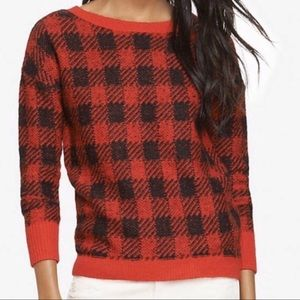 Buffalo Plaid Express Sweater